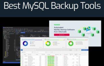 Best MySQL Backup Tools