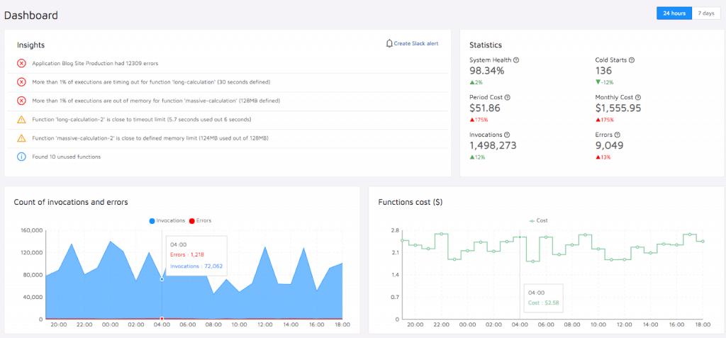 Epsagon serverless monitoring