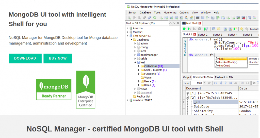 NoSQL Manager