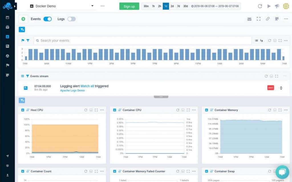 Sematext Server Monitoring