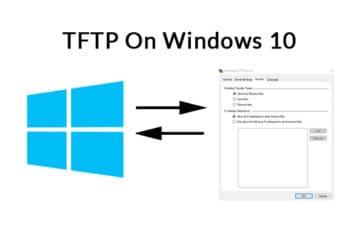TFTP On Windows 10