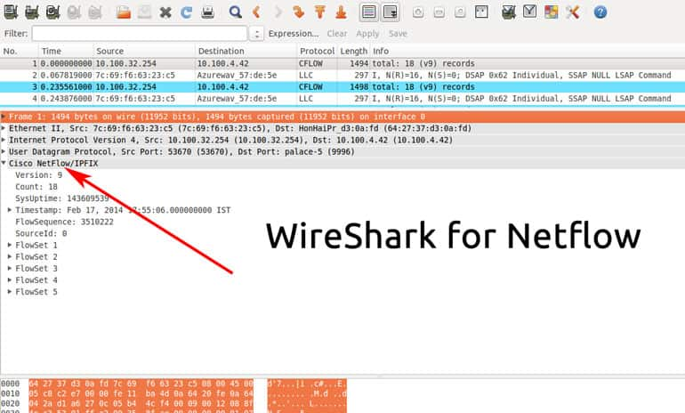 Wireshark for Flow Analysis