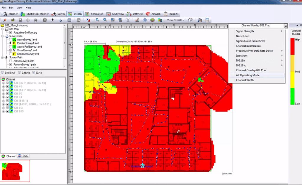 airmagent screenshot heatmap