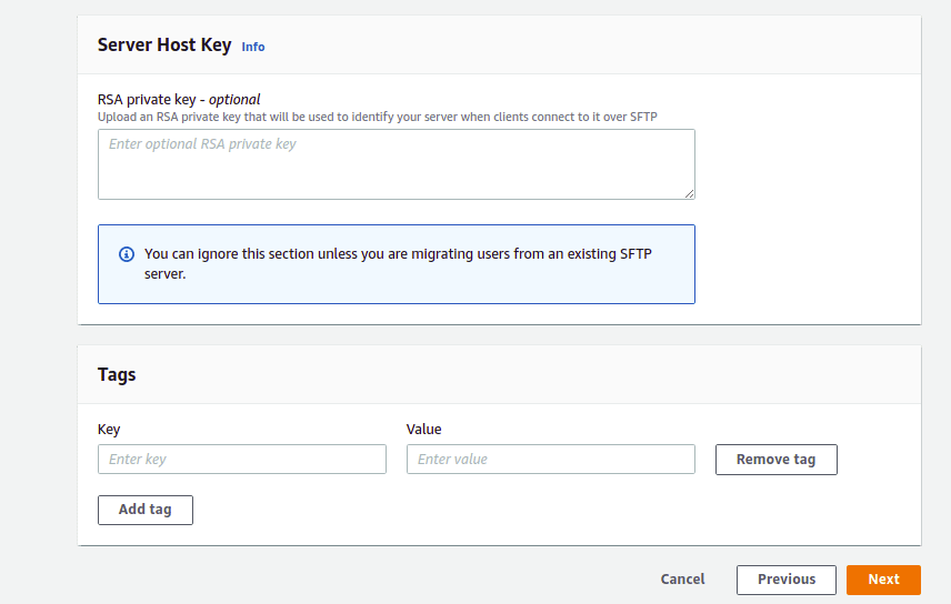configure addition details