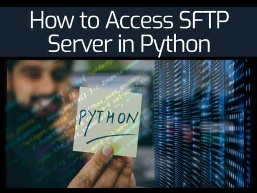 How to Access SFTP Server in Python