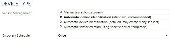 Automatic Device Identification