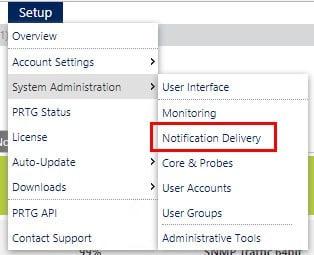 Notification Delivery Setyo