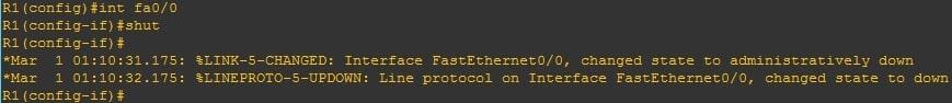 Test Triggers & notification on ethernet port