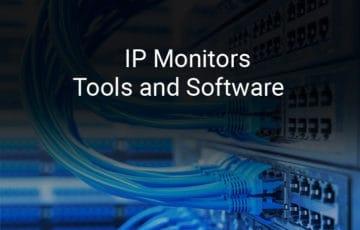 ip monitor tools and software