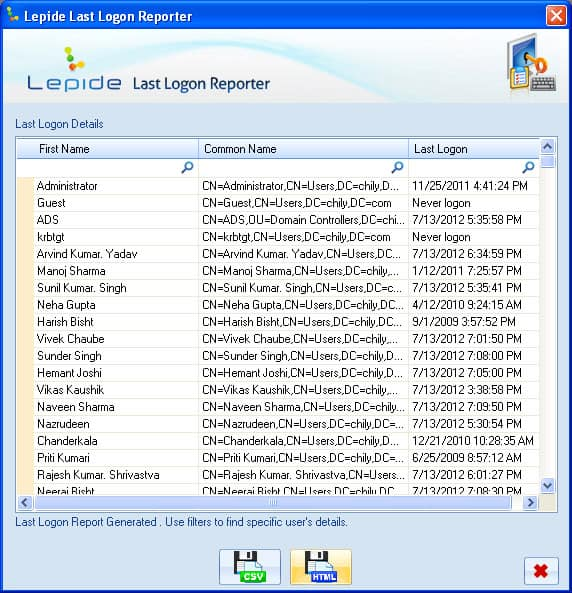 last login active directory free tool