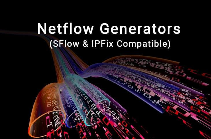 netflow generator and sflow ipfix too!