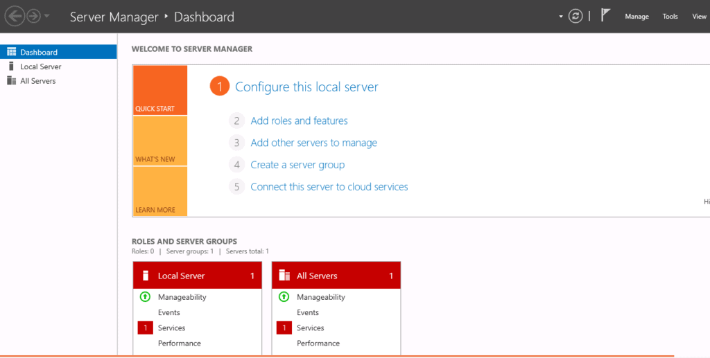 access server manager