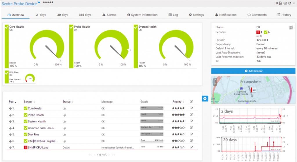 paessler database monitoring
