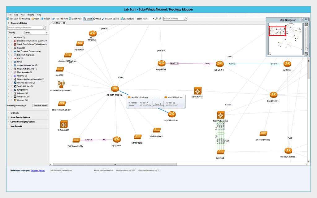 solarwinds network topology mapper