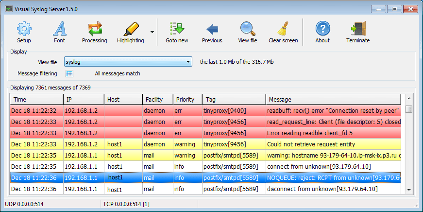 visual syslog server