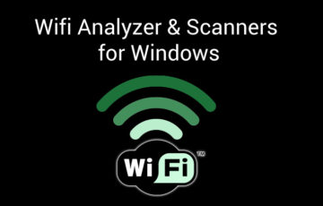 wifi analyzers and scanners for windows