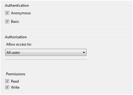 windows 7 ftp server permissions