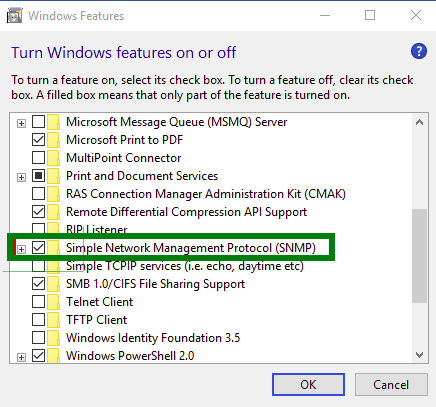 windows 10 features page